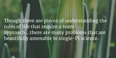 team science quote