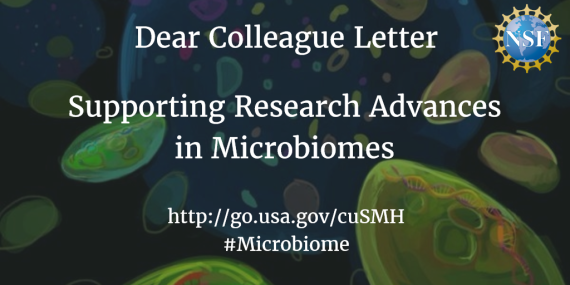 Dear Colleague Letter title: Supporting Research Advances in Microbiomes